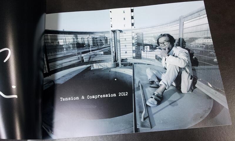 篠田守男展 作品集『tension & compression 2012